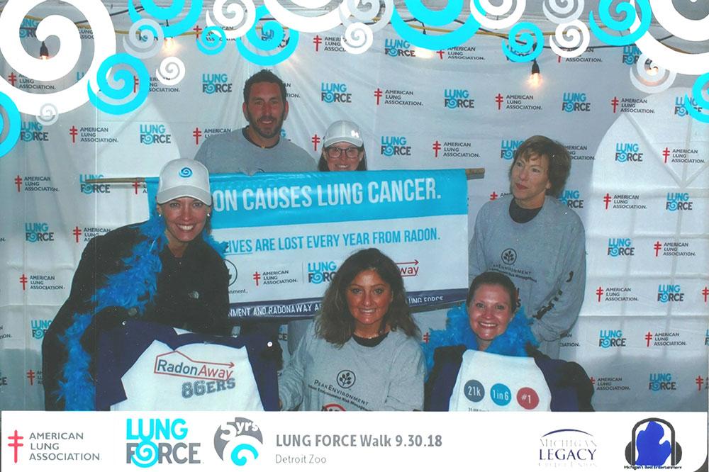 Lung Force Walk Detroit