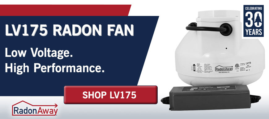 Low Voltage Radon Fan