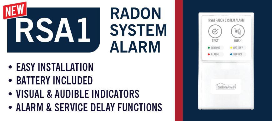 RadonAway RSA1 Radon System Alarm