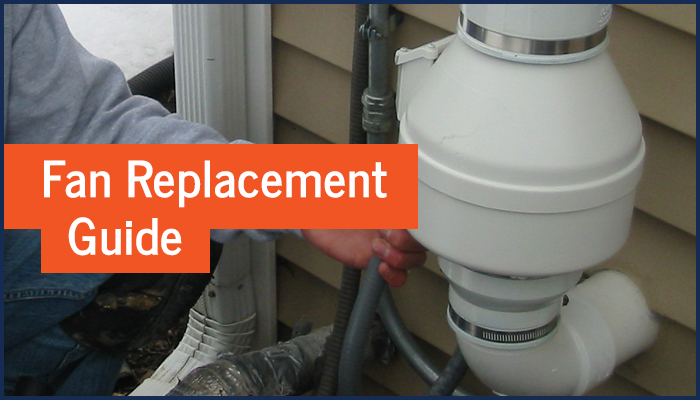 Radon Fan Replacement Guide