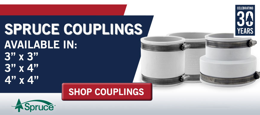 New Spruce Couplings